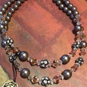 Nwot pearl craft originals necklace